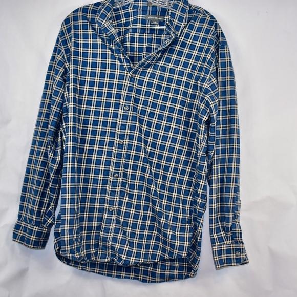 Eddie Bauer Other - Men's Eddie Bauer Plaid Button Down Shirt M (E41)